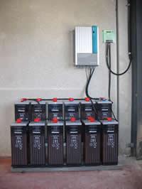 Energias renovables como funciona for Baterias de placas solares