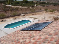 Climatizaci n de piscinas con energ a solar t rmica - Calentar piscina solar ...